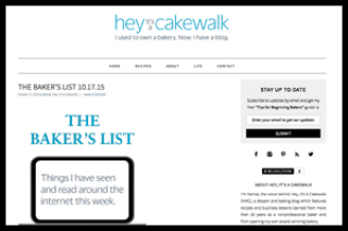 Hey, It's a Cakewalk baking and lifestyle site