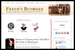 A sophisticated genealogy blog