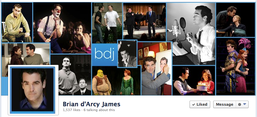 Brian d'Arcy James FB logo